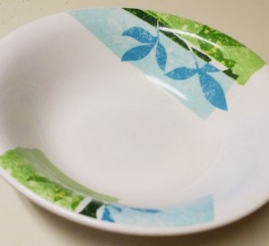 Corningware Bowl - cropped